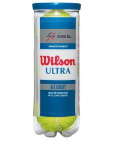 Wilson Ultra All Court Tennis Balls 3/Can WRT109500