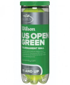 Wilson US Open Green Tournament Transition Balls WRT1375