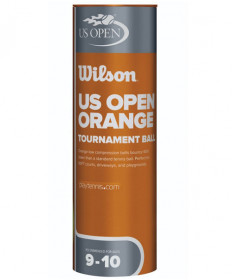 Wilson US Open Orange Dot Junior Ball 3/Can WRT137700