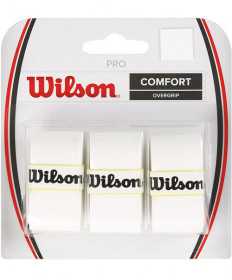 Wilson Pro Overgrip 3 Pack White WRZ4014WH