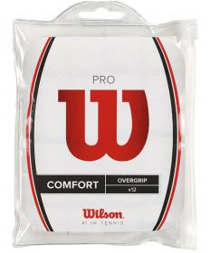 Wilson Pro Overgrip 12 Pack White WRZ4016WG