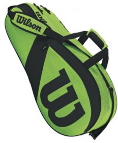 Wilson Match III 6 Pack Bag Green/Black WRZ824806