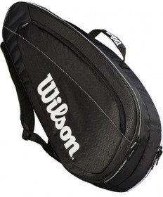 Wilson Federer Team 6 Pack Bag Black/White WRZ834806