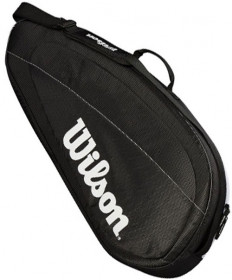 Wilson Federer Team 3 Pack Bag Black / White WRZ834903