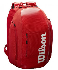 Wilson Super Tour Backpack Bag Red WRZ840896