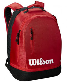 Wilson Team Backpack Bag Red WRZ857996