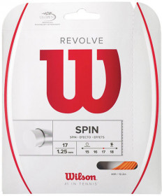 Wilson Revolve 17 Poly String Orange WRZ946300