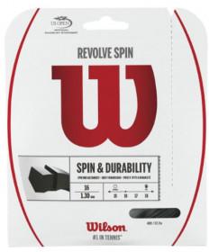 Wilson Revolve Spin 16 Tennis String Black WRZ957000