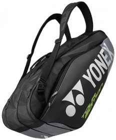 Yonex Pro Series 6 Pack Bag Black/Grey BAG9826BK