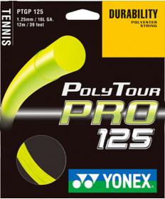 Yonex PolyTour Pro 16L 1.25MM String Yellow PTGP125