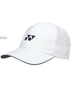 Yonex Sports Cap Hat White W-341WH