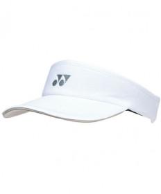 Yonex Sports Visor White W-441WH