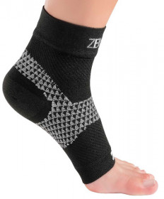 Zensah Plantar Fasciitis Sleeve Single Black 6324-100