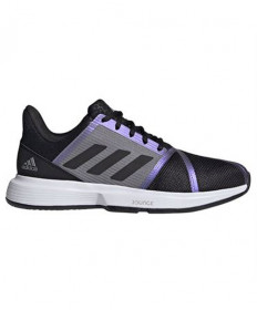 Adidas Men's CourtJam Bounce Shoes Black/Grey FX1493