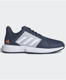 Adidas Men's CourtJam Bounce Shoes Blue/Grey FX4103
