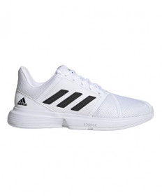 Adidas Courtjam Bounce Mens White/Black FY2831