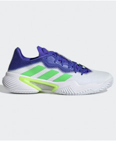 Adidas Men's Barricade 2021 Shoes White/Blue FZ1827