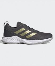 Adidas Women's Court Control- Grey Six- H00943