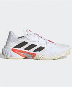Adidas Barricade Tokyo Women's Tennis Shoe White/Black/Red H67701