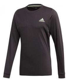 Adidas Men's NY Longsleeve Tee-Carbon DX4325