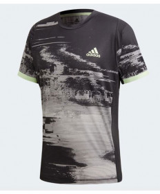 Adidas Men's New York Printed Tee-Black-Grey DZ6216