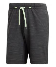 Adidas Men's 9 inch NY Melange Short-Carbon DZ6220