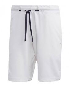 Adidas Men's 9 inch NY Melange Short-White DZ6222