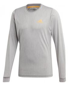 Adidas Men's NY Longsleeve Tee- Grey DZ6223