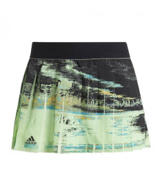 Adidas Women's NY Skirt-Glow Green-Black DZ6235