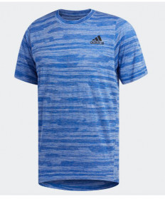 Adidas Men's Freelift Engineered Heather Tee-Collegiate Royal EB8006