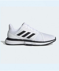 Adidas Courtjam Bounce Mens White/Silver EE4119