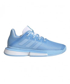 Adidas Solematch Bounce Women's Blue/White EE9561