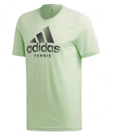 Adidas Tennis Graphic Tee-Glow Green EH5603