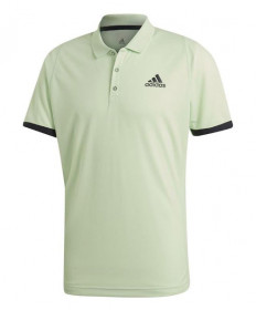 Adidas Men's New York Polo-Glow Green-Carbon EI8969
