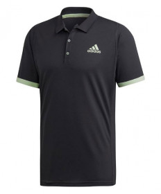 Adidas Men's New York Polo-Carbon-Glow Green EI8970