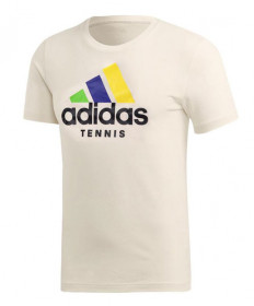 Adidas Limited Edition Edberg Tee-Cream White FI8187