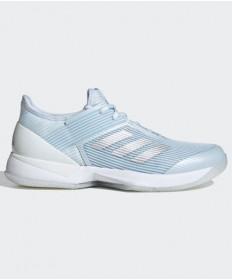 Adidas Adizero Ubersonic 3 Women's Sky Tint/Silver/White FU8149