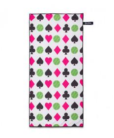 Ame & LuLu Sport Towel-Rainbow Racquets SPTWL145