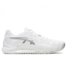 Asics Gel Resolution 8 Men's White/Pure Silver 1041A079-100