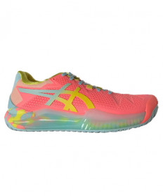 Asics Gel Resolution 8 Women's LE Sun Coral/Sour Yuzu 1042A161-700