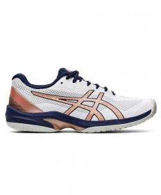 Asics Gel Court Speed FF Women's White/Rose Gold/Blue