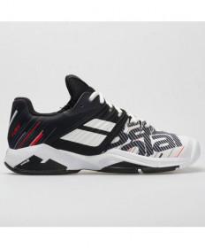 Babolat Men's Propulse Fury All Court 2020 Shoes White/Black 30S20208-1001