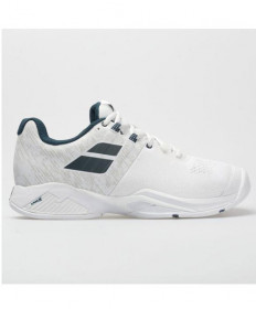 Babolat Men's Propulse Blast AC Shoes White/Blue 30S20442-1005