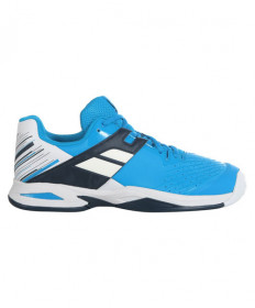 Babolat Juniors' Propulse All Court Shoes White/Blue 32S20478-1030