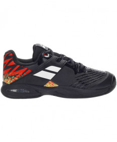 Babolat Juniors' Propulse All Court Shoes Black/White/Red 33S21478-2001