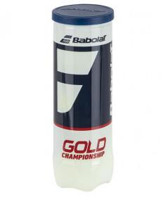 Babolat Championship Gold Tennis Balls Regular Duty 3/can 501084