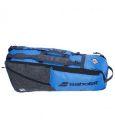 Babolat Evo Racquet Holder 6 Pack Bag Blue/Grey 2020 751209-211