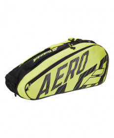 Babolat Pure Aero Racquet Holder 6 Pack Bag Black/Yellow 2020 751212-142