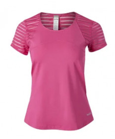 Bolle English Rose Cap Sleeve Top- Pink Passion 8787-7317