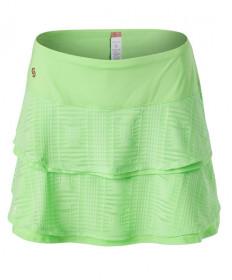 Cross Court Double Flounce Skirt-Melon 8656-9232